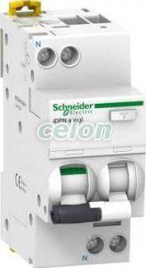 Siguranta automata cu protectie diferentiala Idpna vigi, Acti9 F+N 10A 30 mA 10 kA AC A9D34610  - Schneider Electric, Aparataje, Protectie diferentiala, Disjunctoare cu protecţie diferenţială, Schneider Electric