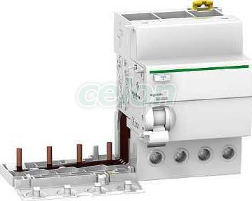 Chráničové spúšte Vigi ic60, Acti9 4P 63A 300 mA AC A9V44463 - Schneider Electric, Sieťové elektroinštalačné prvky, Nadprúdová ochrana, Prúdové chrániče, Schneider Electric