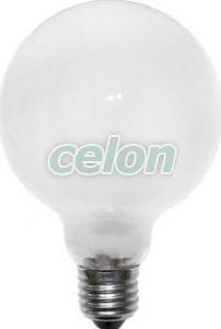 Bec halogen Eco Glob E27 28 W (=40 W) G93 sticla clar , Lumen, Surse de Lumina, Surse de iluminat cu halogen, Becuri cu halogen forma glob, Lumen