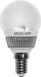 Power Ledes izzó Gömb formájú E14 3W P45 Fehér Hideg fehér 6200k 230V - Lumen, Fényforrások, LED fényforrások és fénycsövek, LED kisgömb izzók, Lumen