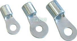 Papuc inelar neizolat,cupru electrolitic stanat - 2,5mm2, M12, (d1=3mm, d2=13mm) SZ25-12 - Tracon, Materiale si Echipamente Electrice, Elemente de conexiune si auxiliare, Papuci si mufe izolate si neizolate, Papuci şi mufe neizolate, Papuci inelari neizolaţi, Tracon Electric