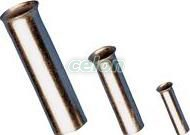 Tub de capăt neizolat,cupru electrolitic stanat - 1,5mm2, L=8mm E04NR - Tracon, Materiale si Echipamente Electrice, Elemente de conexiune si auxiliare, Tuburi de capăt, Tuburi de capăt (cap terminal) neizolate, Tracon Electric