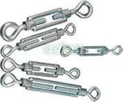 Întinzător cablu (ochi-ochi), oţel+corp turnat - 6x100mm, 1800N FSS6100 - Tracon, Materiale si Echipamente Electrice, Elemente de conexiune si auxiliare, Elemente de Fixare, Cleme şi întinzătoare metalice, Întinzătoare, Tracon Electric
