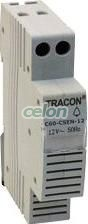 Sonerie modulară - 12V AC, 60dB C60-CSEN-12 - Tracon, Aparataje modulare, Sonerii pe sina, Tracon Electric