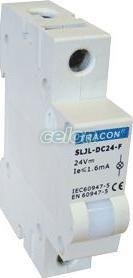 Lampă de semnalizare modulară cu LED, alb - 230V AC SLJL-AC230-F - Tracon, Aparataje, Lampi de semnalizare, Tracon Electric