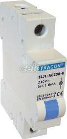Lampă de semnalizare modulară cu LED, albastru - 230V AC SLJL-AC230-K - Tracon, Aparataje, Lampi de semnalizare, Tracon Electric