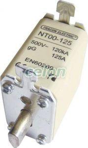Siguranţă fuzibilă MPR - 500V AC, 25A, 00, 120kA, gG NT00-25 - Tracon, Materiale si Echipamente Electrice, MPR-uri, sigurante ceramice şi accesorii, Siguranţe Mpr, Tracon Electric
