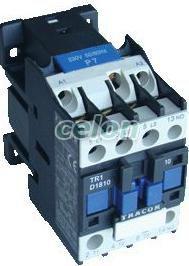 Contactor - 660V, 50Hz, 25A, 11kW, 230V AC, 3xNO+1xNO TR1D2510 - Tracon, Automatizari Industriale, Contactoare si Relee de protectie, Contactoare de uz general, Tracon Electric