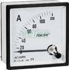 Ampermetru analogic de curent alternativ, măsurare directă - 72x72mm, 10A AC ACAM72-10 - Tracon, Aparataje, Contoare electrice, Aparate de măsură, Aparate analogice si digitale pentru panouri, Aparate analogice pentru panouri, Ampermetre, Tracon Electric