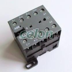 CONTACTOR ABB 4KW / 8A 3P+1NC 24V DC, Automatizari Industriale, Contactoare si Relee de protectie, Contactoare reversibile, Abb
