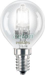 Halogén kisömb izzó EcoClassic30 lustre P45 18W E14 CL Philips, Fényforrások, Halogén fényforrások, Halogén gömb izzók, Philips