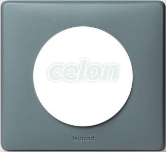 CELIANE Rama simpla Plastic IP20 Ciment 68741 - Legrand, Prize - Intrerupatoare, Gama Celiane - Legrand, Rame Celiane, Legrand