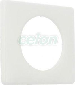 CELIANE Rama simpla Plastic IP20 Cocos 68891 - Legrand, Prize - Intrerupatoare, Gama Celiane - Legrand, Rame Celiane, Legrand