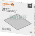 Led Panel 600x600mm 30W 4000k Alb Rece 4058075000506   - Osram, Corpuri de Iluminat, Paneluri si spoturi Led, Led panel, Ledvance
