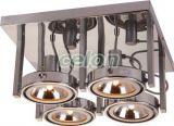 Plafoniera KURIANA 4x60 W 5645-4 Globo Lighting, Corpuri de Iluminat, Iluminat de interior, Aplice si plafoniere tip spot, Globo Lighting