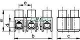 Cleme şir flexibile cu lamele, profil H,12 poli, natur - 2,5mm2, 450V, 16A, PP S3A-H-L - Tracon, Materiale si Echipamente Electrice, Elemente de conexiune si auxiliare, Conexiuni, cleme şir, Cleme şir flexibile si bachelita, Tracon Electric