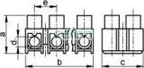 Cleme şir flexibile, profil H, 12 poli, natur - 10mm2, 450V, 50A, PP S15A-H - Tracon, Materiale si Echipamente Electrice, Elemente de conexiune si auxiliare, Conexiuni, cleme şir, Cleme şir flexibile si bachelita, Tracon Electric