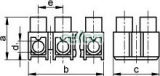 Cleme şir flexibile, profil H, 12 poli, negru - 2,5mm2, 450V, 16A, PP SF3A-H - Tracon, Materiale si Echipamente Electrice, Elemente de conexiune si auxiliare, Conexiuni, cleme şir, Cleme şir flexibile si bachelita, Tracon Electric
