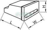 Clemă cu şurub pentru legături, izolată, carcasă galbenă - 4x(1,5-4mm2), 450V, max. 40A TRK4 - Tracon, Materiale si Echipamente Electrice, Elemente de conexiune si auxiliare, Conexiuni, cleme şir, Conexiuni cu şurub, Tracon Electric