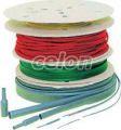 Tub termocontr.subţire,contracţie 2:1,verde-galben,pe tambur - 3,2/1,6mm, POLIOLEFIN ZS032ZS-D - Tracon, Materiale si Echipamente Electrice, Materiale termocontractabile, Tuburi termocontractabile, Tuburi termocontractabile cu perete subţire 2:1, Tracon Electric