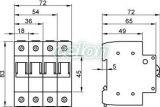 Selector modular - 3P, 32A SVK3-32 - Tracon, Aparataje, Separatoare modulare, Tracon Electric