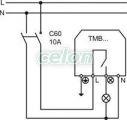 Senzor de mişcare, negru - 230V, 1100W, 120°, 5 s-7min, IP44 TMB-008F - Tracon, Aparataje, Senzori de mişcare, comutatoare, avertizoare, Senzori de mişcare, Tracon Electric
