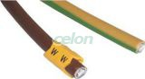 Marcaj cablu , litera U - 1,5-4mm2 J15U - Tracon, Materiale si Echipamente Electrice, Elemente de conexiune si auxiliare, Marcaje cabluri şi etichete, Marcaje cablu, Tracon Electric